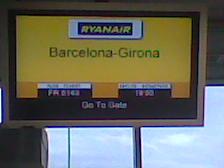 Girona a l'aeroport de Linz