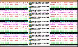 subculture-Art virus
